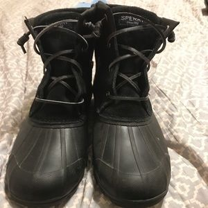 """Sperry """"duck"""" boots"""